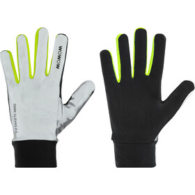 Wowow Dark 2.0 Gloves reflecting grey/yellow